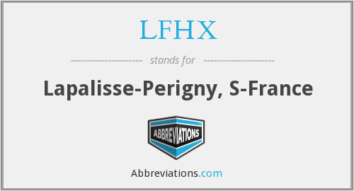 What does LFHX stand for?
