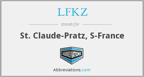 What does LFKZ stand for?