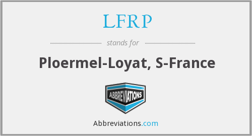What does LFRP stand for?