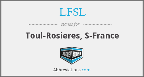 What does LFSL stand for?