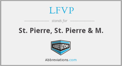 What does LFVP stand for?