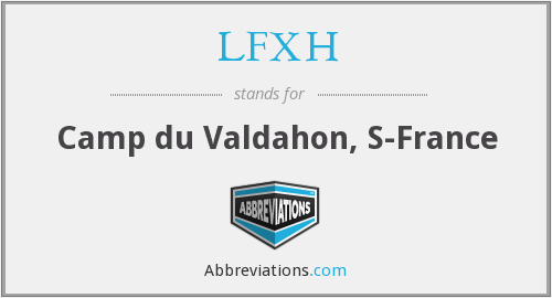 What does LFXH stand for?