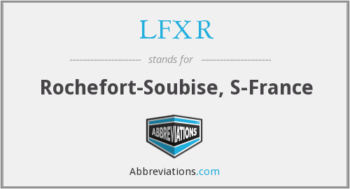 What does LFXR stand for?