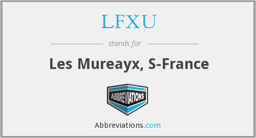 What does LFXU stand for?