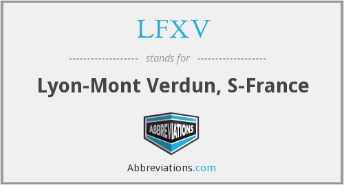 What does LFXV stand for?