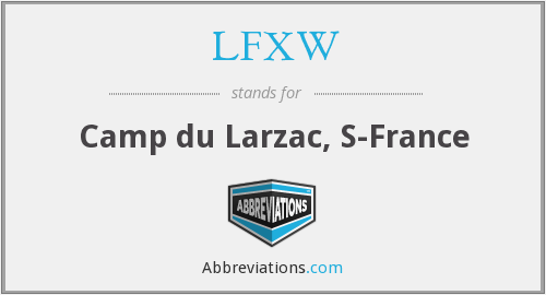 What does LFXW stand for?