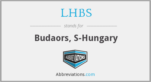 What does LHBS stand for?