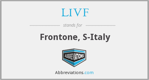 What does LIVF stand for?