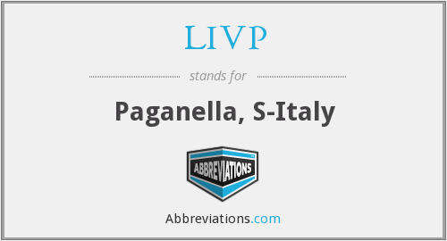 What does LIVP stand for?