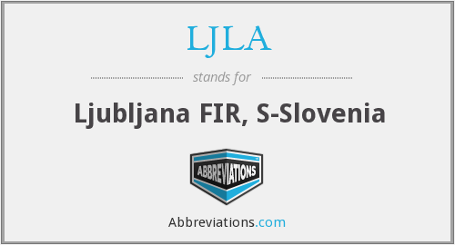 What does LJLA stand for?
