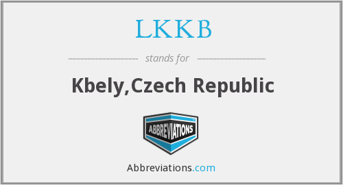 What does LKKB stand for?