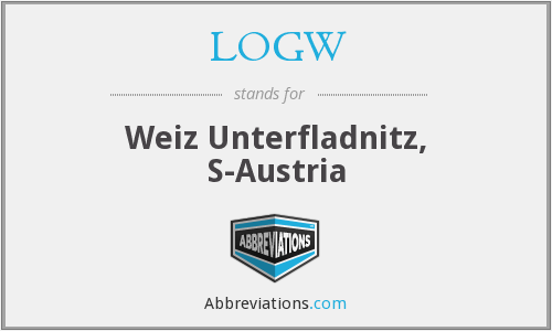 What does LOGW stand for?