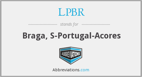 What does LPBR stand for?