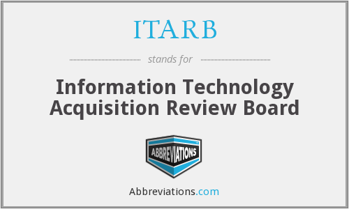 What does ITARB stand for?