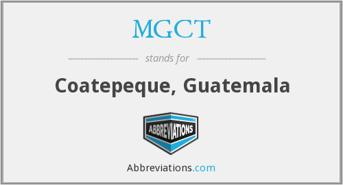 What does MGCT stand for?