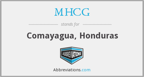 What does MHCG stand for?