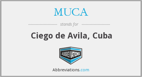 What does MUCA stand for?