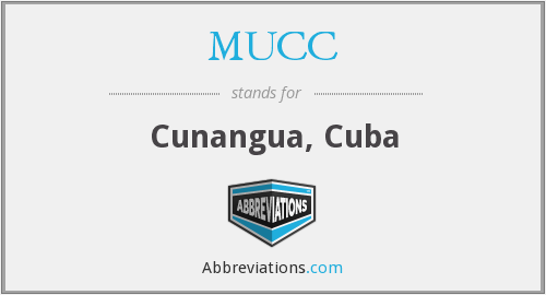 What does MUCC stand for?