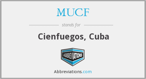 What does MUCF stand for?