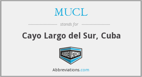 What does MUCL stand for?