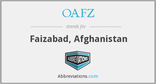 What does OAFZ stand for?