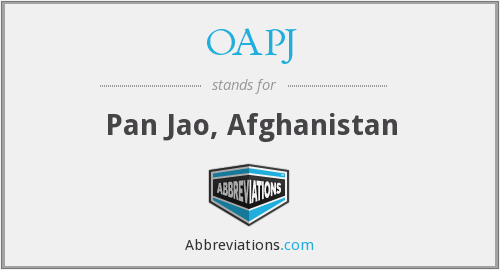 What does OAPJ stand for?