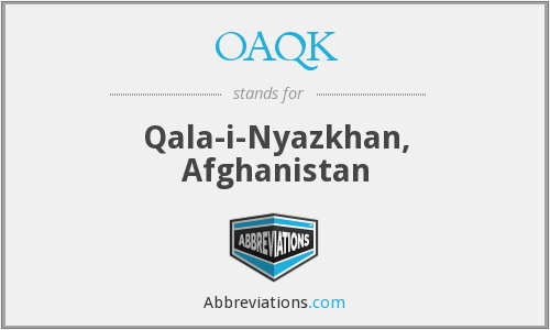 What does OAQK stand for?