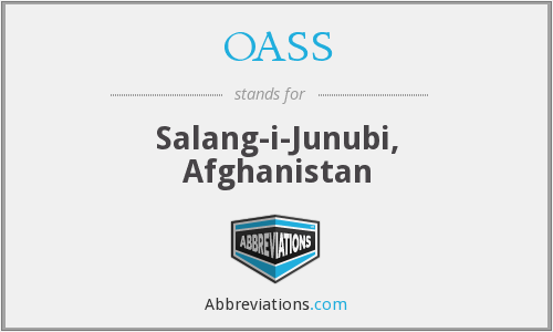 What does OASS stand for?