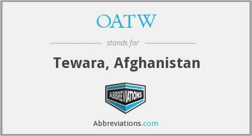 What does OATW stand for?