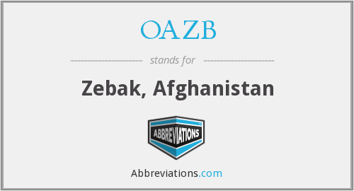 What does OAZB stand for?