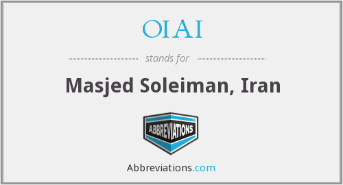 What does OIAI stand for?