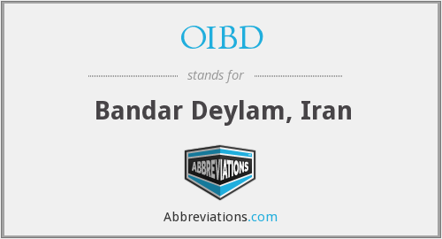 What does OIBD stand for?