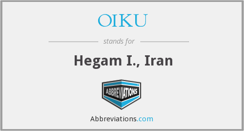 What does OIKU stand for?
