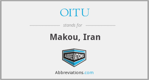 What does OITU stand for?
