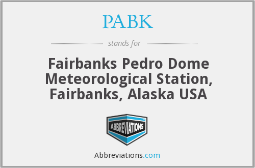 What does PABK stand for?