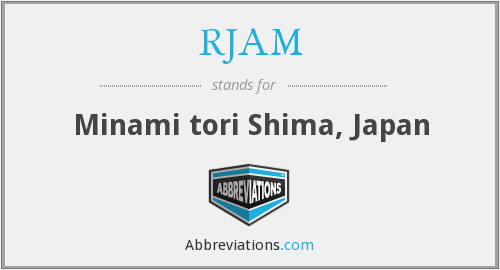 What does RJAM stand for?