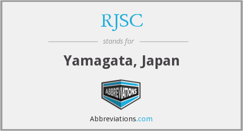What does RJSC stand for?