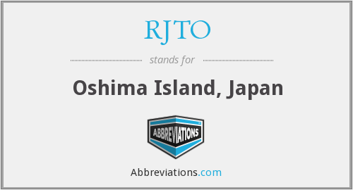 What does RJTO stand for?