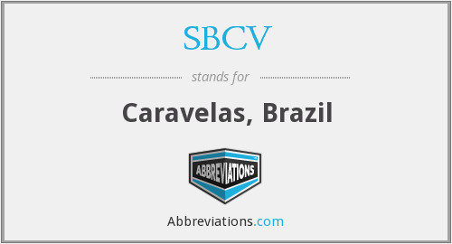 What does SBCV stand for?