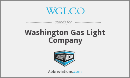 What does WGLCO stand for?