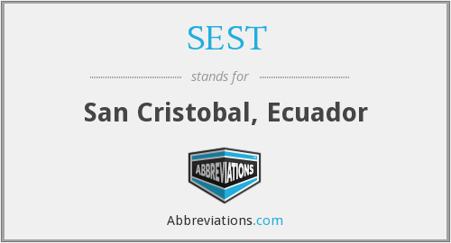 What does SEST stand for?