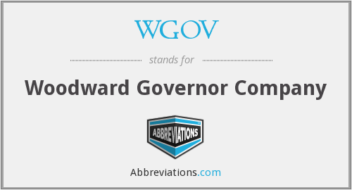 What does WGOV stand for?