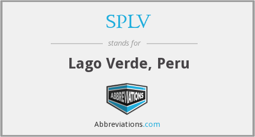What does SPLV stand for?