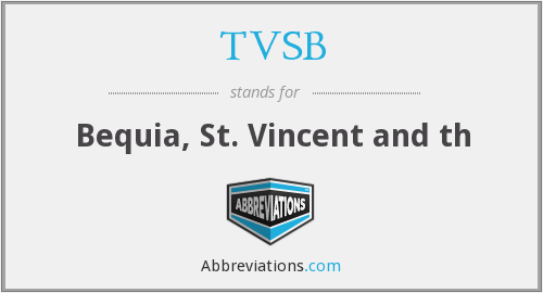 What does TVSB stand for?
