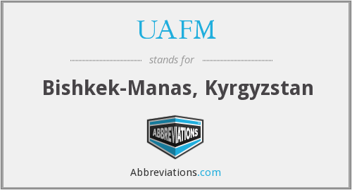 What does UAFM stand for?
