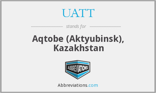 What does UATT stand for?