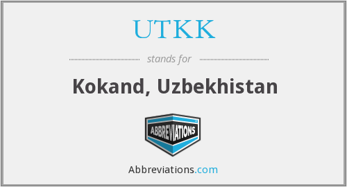 What does UTKK stand for?