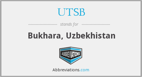 What does UTSB stand for?