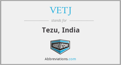 What does VETJ stand for?