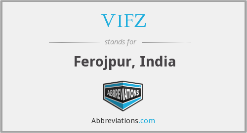 What does VIFZ stand for?